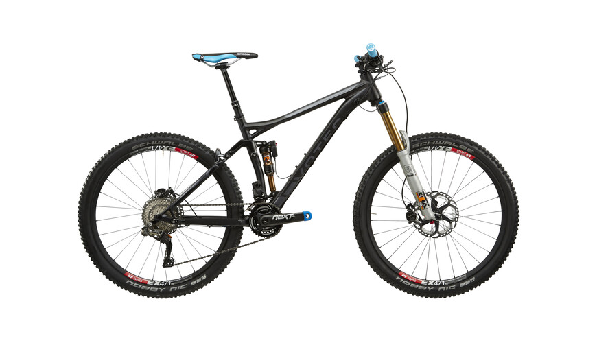 "VOTEC VM Evo Di2 - All Mountain Fully 27,5"" - anodized black matt/dark grey glossy"